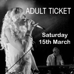 Phatfish Farewell Concert, 15th March 2014, ADULT TICKET